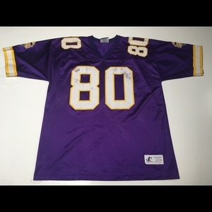 new product df912 ca21a Vintage 90s Chris Carter Minnesota Vikings Jersey